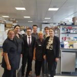 Squire Hotels staff go under the microscope for North West Cancer Research