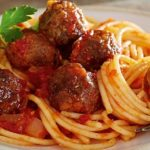 Vegetarian Foodservice Recipe: Spaghetti and No-Meat Balls