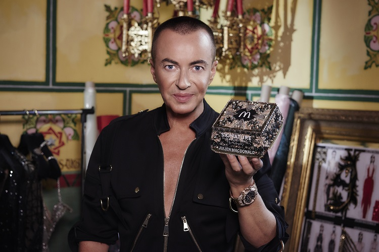 Julien Macdonald Unveils Collaboration with McDonald's