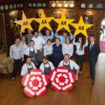 Langdale Chase awarded 4 stars and 2 rosettes in AA inspection