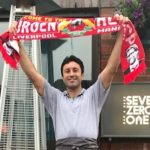 Liverpool superfan working at City Hotel