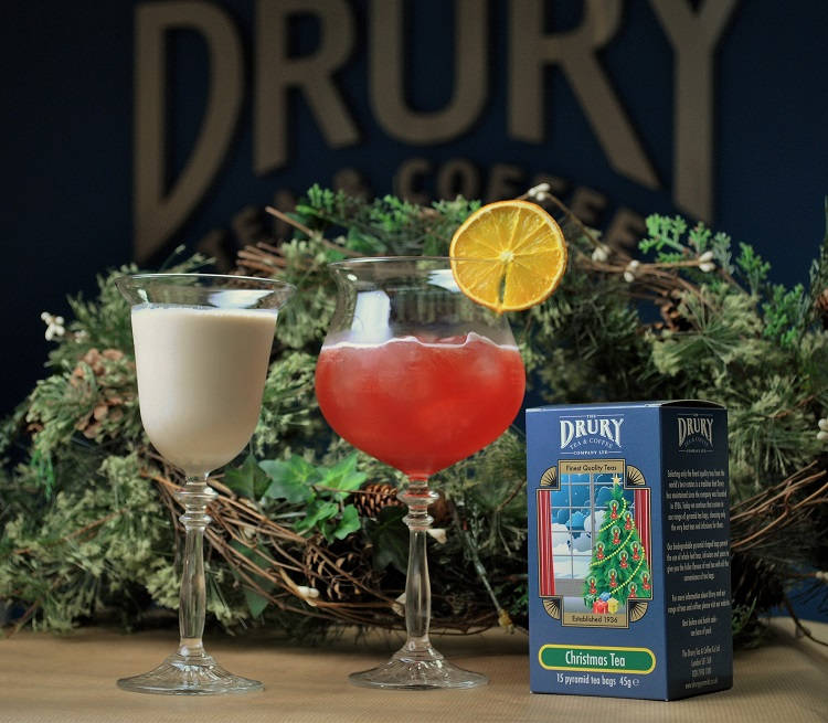 Tea Infused Christmas Cocktail Recipes From Drury