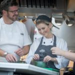 KUDOS chef enjoys Michelin culinary masterclass by Daniel Clifford of Midsummer House