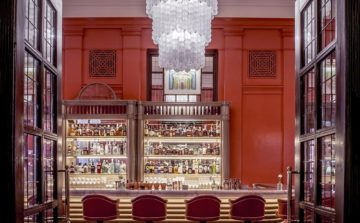 The Coral Room, a bar like no other in the heart of Bloomsbury