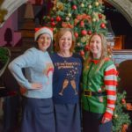 Festive fashions donned at Warwickshire hotel for good cause
