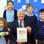 Top marks for county's school dinners