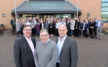 Local MP officially opens Ei Group headquarters following major refurbishment