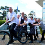 Chef gets on his bike for charity