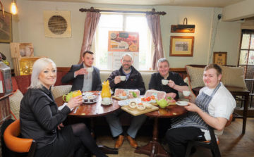 Drovers Arms call time gentlemen please…to order your breakfasts!