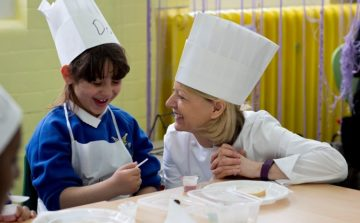 Royal Academy of Culinary Arts' Adopt-A-School Chefs get a well-deserved night out