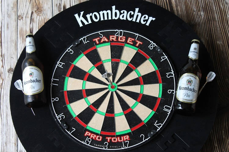 Krombacher Kicks Off Darts Challenge Hospitality Catering News