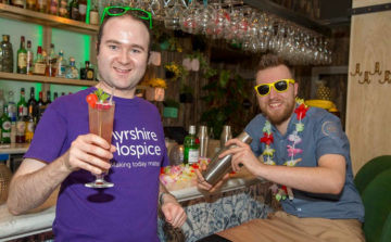 Cocktail is just the tonic for Ayrshire Hospice