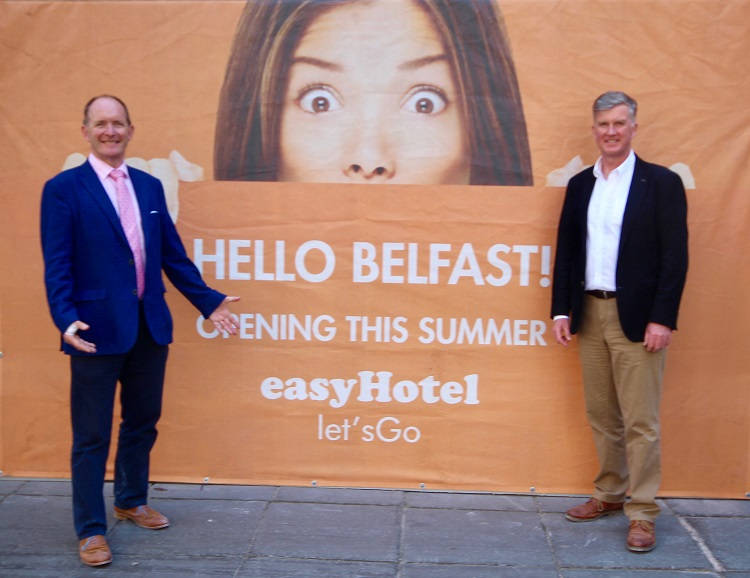 easyHotel creates new jobs with opening of first Hotel in