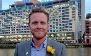 James Pike of Green & Fortune is winner of ACE Robyns Award 2018