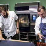 Me and my HOUNÖ Ovens – Michelin star chef, Brad Carter