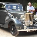 Rolls-Royce Club treasure hunt stops in for lunch at Charingworth Manor