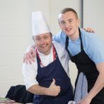 Chefs go behind bars to train young offenders in culinary skills