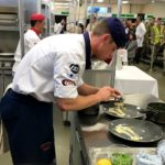 Cream of the crop on show at exercise joint caterer