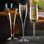 Festive wine flutes on offer