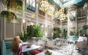 1870's architecture welcomes guests to Curio Collection by Hilton Kensington