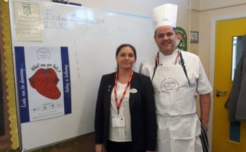 Valor gets kids cooking with Adopt a School initiative