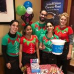Healthcare teams' Elf Week fundraising event for Alzheimer's Society UK
