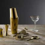 New! Gold plated barware from Artis