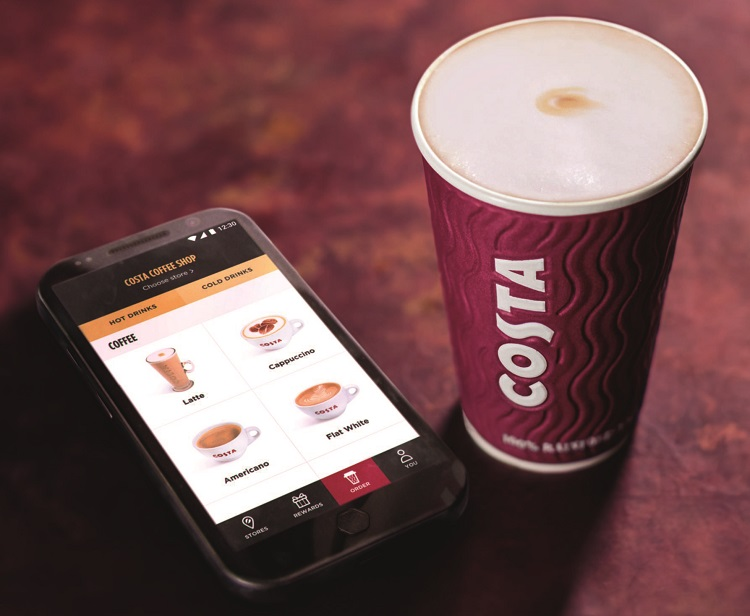 introducing costa collect costa coffee launches pre order drinks service 1.