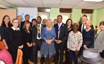 HRH The Duchess of Cornwall visits Tower Hamlets Lunch Club and Meals on Wheels service