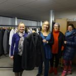 York Hotel presents suits donated during charity week to Harrogate Clothes Bank