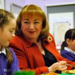 APPG Chair for school food samples Sodexo's new Food & Co offer