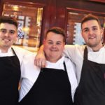 Three workmates lock horns in National Chef of Wales semi-finals
