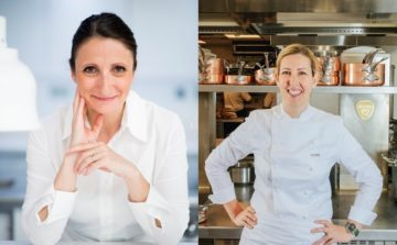 Anne-Sophie Pic and Clare Smyth: world's top chefs join forces to celebrate International Women's Day