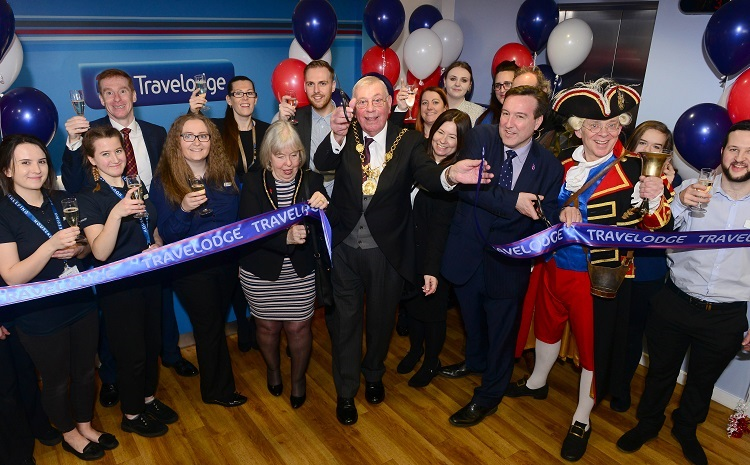 Travelodge receptionist now GM opens new flagship hotel in