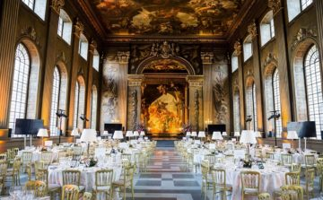 New café and event space at Old Royal Naval College, Greenwich