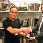 Inaugural KP Hero Award presented to worthy winner at Gatwick Airport
