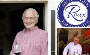 Hospitality Action presents an evening with Michel Roux OBE and Brian Turner CBE at Roux at Skindles
