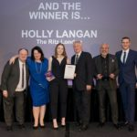 Ritz apprentice takes the 'Purple Umbrella Award'
