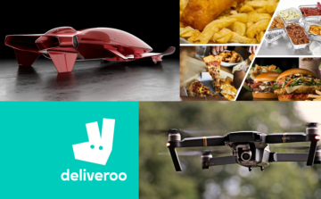 Foodservice delivery growth to be facilitated by branded drones