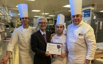 Young Pastry Chef of the Year 2019 and winner of David Lyell Scholarship named