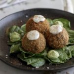 Riso Gallo Spinach and Mozzarella Arancini, by Danilo Cortellini