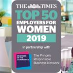 Sodexo celebrate six years inclusion in The Times Top 50 Employers for Women