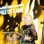 Mrs Beatrice Tollman, inducted in to the British Travel & Hospitality Hall of Fame