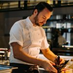 Jason Atherton's first theatre bar opens today