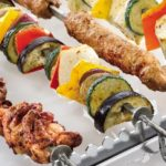 Kebabs made simple with Rational's skewers