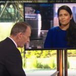 Priti Patel accused live on BBC of laughing at industry bodies Brexit concerns