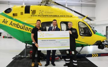 Wadworth pub customers support essential Air Ambulance services