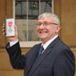 David McKown presented with MBE for services to the UK hospitality and catering industry