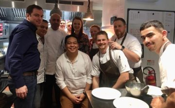 Dinner at Restaurant Sat Bains for the Country Range Student Chef Challenge Winners