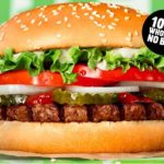 Burger King plant based burger launched across the UK today aimed at, non-vegans